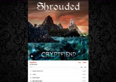 The Shrouded1 Music Player