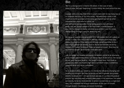 The Shrouded1 Homepage Bio