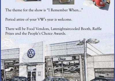 VW Show Flier