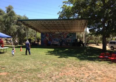 Juneteenth Festival Setup